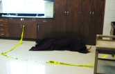 "A ""dead body"" provides practice for the forensics class."