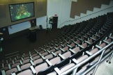 Presentations from different classes take place in this theater.